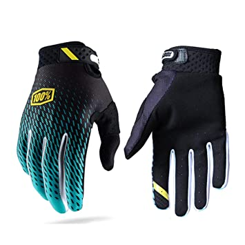 Full Finger Bike Non-slip Shockproof Breathable MTB Mountain Bicycle Gloves New.
