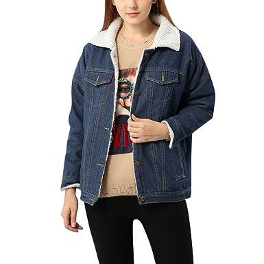 veste hierver femme jean