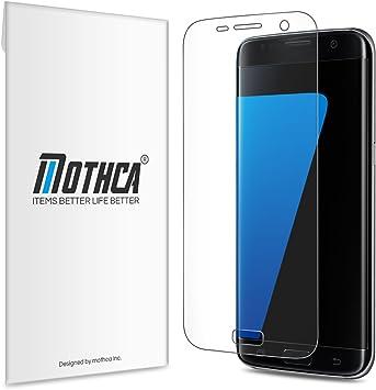 3 Pack) Galaxy S7 Edge Protector de Pantalla Screen Protector ...