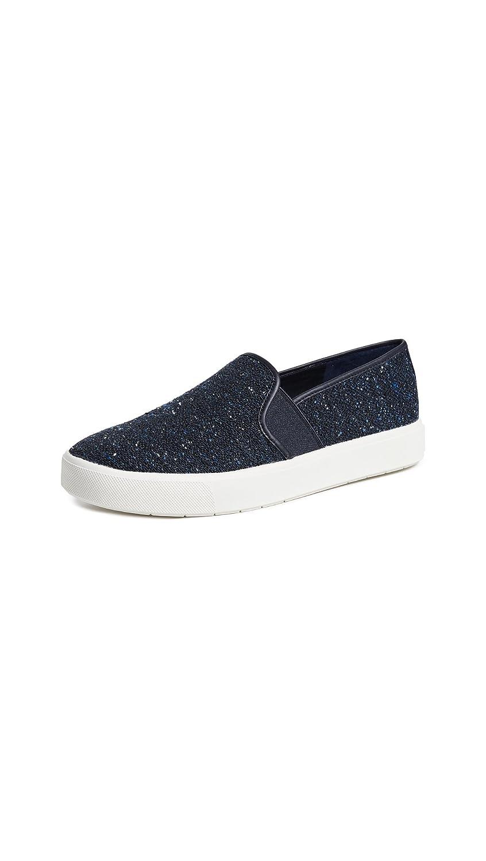Navy Tweed Fabric Vince Women's Blair 5 Sneaker
