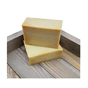 Olive Oil Soap Bar - 100% Pure Natural & Artisan Crafted Quality  (Double Bar)