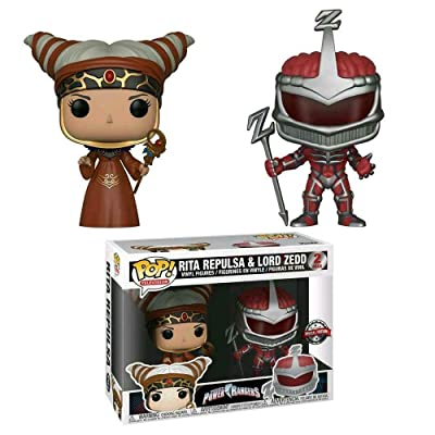 Funko BAM! Exclusive Power Ranger Pop! Vinyl 2 Pack - Rita Repulsa and Lord Zedd Booksamillion: Toys & Games