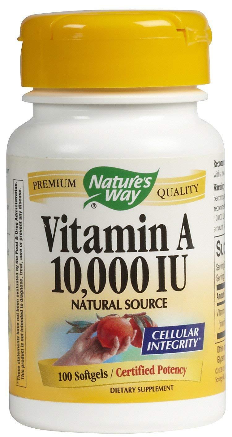 Natures Way Vitamin A 10000 Iu