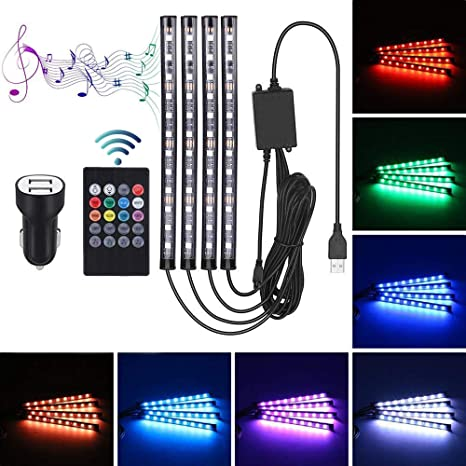 LED Dachleuchte Innenraumbeleuchtung Ambientebeleuchtung Auto Innen Lichtleiste
