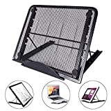 Light Box Stand, SUPRBIRD Laptop Stand Portable Foldable Ergonomic Desktop Stand Holder Mount for MacBook Notebook Computer PC iPad Tablet, LED Light Table A4 LB4 L4S and Most tracing Ligh Box pad