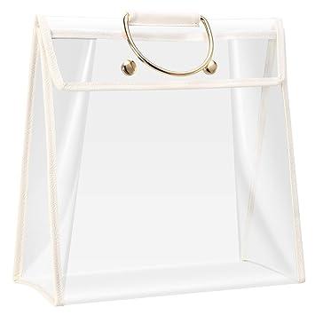 Amazon.com: Bridawn Bolsa transparente a prueba de polvo ...