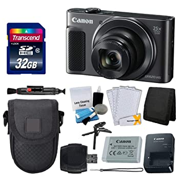 Amazon.com: Canon PowerShot sx620 HS – Cámara digital (Negro ...