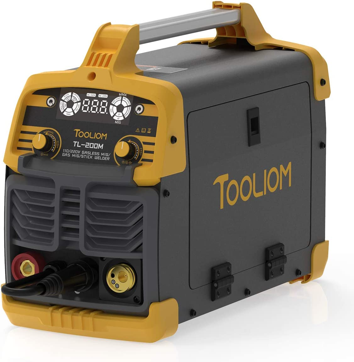 The best welding unit with synergic function: TOOLIOM 200A
