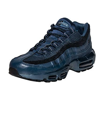 huge discount 23f1f c92e2 Amazon.com  NIKE Air Max 95 Premium Womens 807443-900 Armory Navy Blue  Running Shoes Sz 12  Road Running