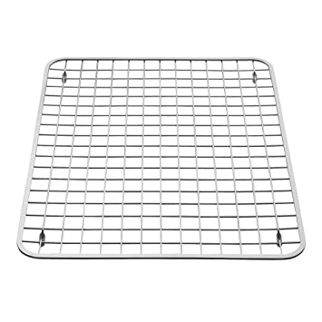 Wonderful InterDesign Gia Kitchen Sink Protector   Wire Grid Mat U2013 Large, Polished