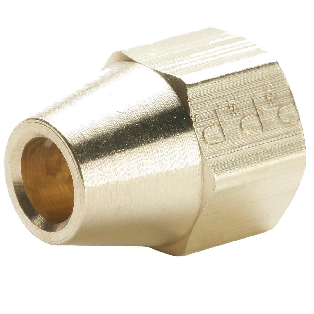 Brass Flare 7//8 Short Extruded Nut Parker 41FS-14 45 Degree Fitting