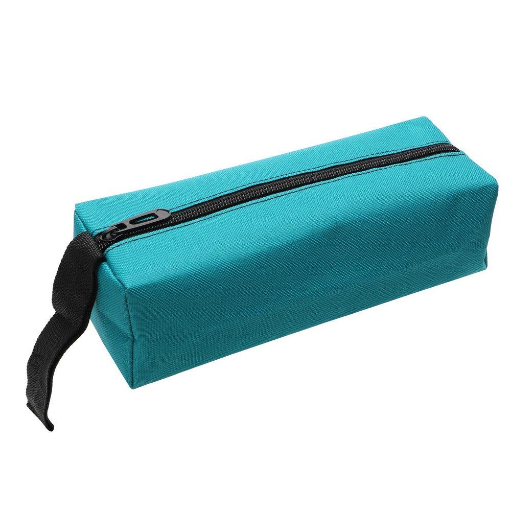 Itimo Diywork Outil Sac /à main Sac de rangement pour vis clou Foret outils de pi/èces en m/étal Oxford Emballage Portable /étanche Organiseur Bleu