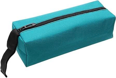 iTimo DIYWORK Tool Bag Hand Storage Bag for Screws Nails Drill Bit Metal Parts Oxford Tools Packaging Portable Waterproof Organizer(blue)