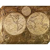 Pinnacle Frames and Accents Vintage Map, 30x40-Inch
