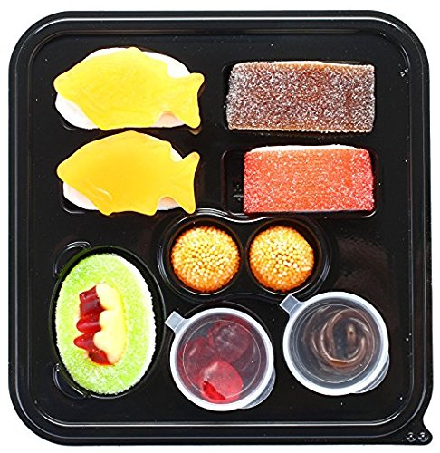 Raindrops MINI Candy Gummy Sushi Bento Box (Pack of 12)