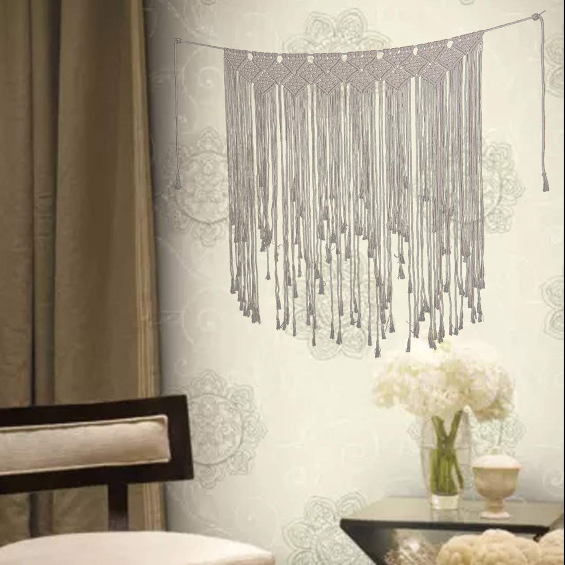 Amazon.com: BLH Nordic Home - Tapiz decorativo para pared ...
