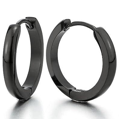 boucle d'oreilles homme anneaux