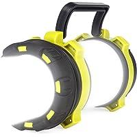 Hillmax LED Camping Lantern Rechargeable, 18650 Battery Spotlight Flashlight - 3000 mAh USB Rechargeable Power Bank, 4…