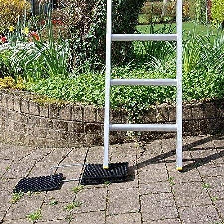 LadderMat Tapis anti-d/érapant et de nivellement pour /échelle