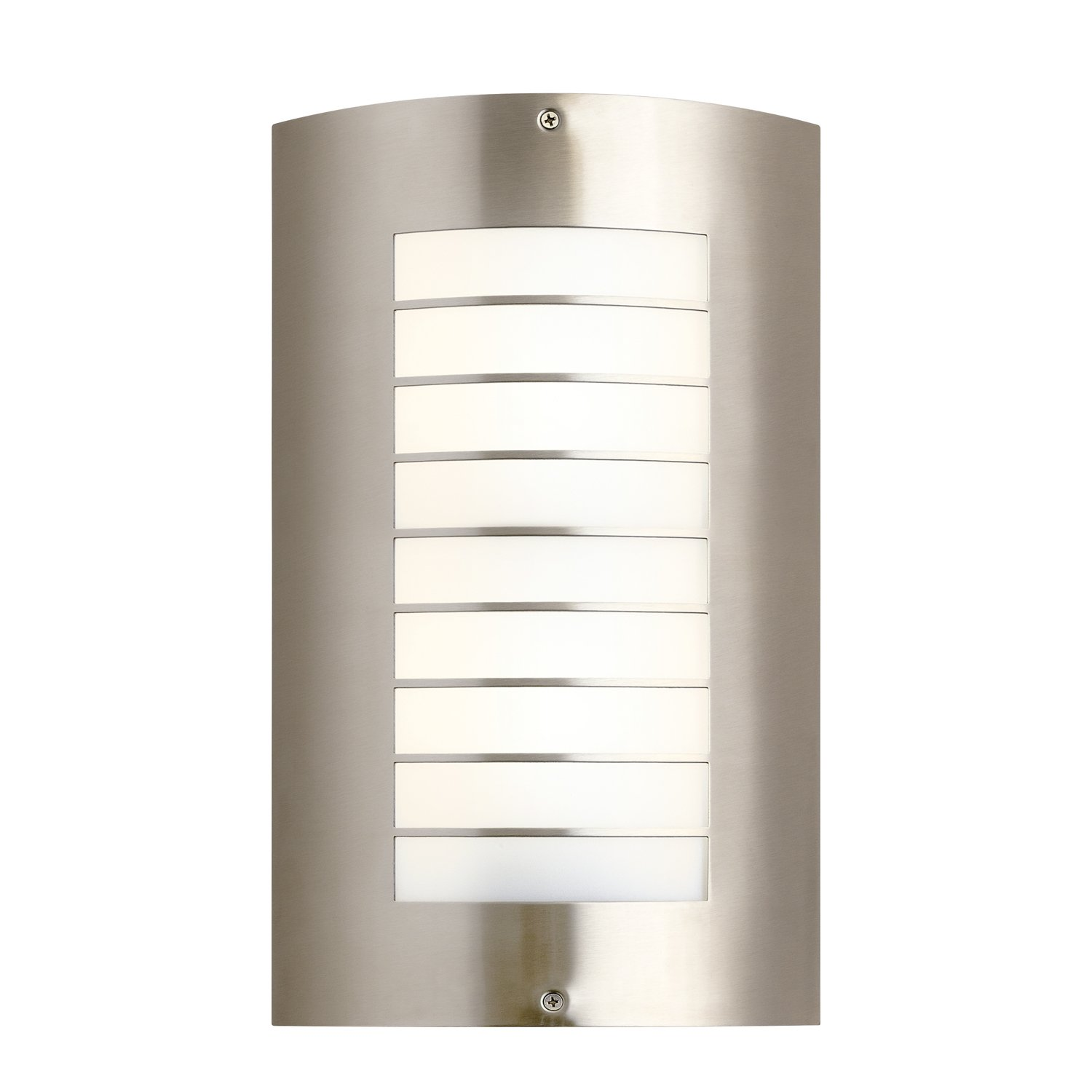 Kichler 6040NI  Modern 1 Light Outdoor Wall Light  Brushed Nickel   Wall  Porch Lights   Amazon comKichler 6040NI  Modern 1 Light Outdoor Wall Light  Brushed Nickel  . Kichler Lighting Outdoor Sconce. Home Design Ideas