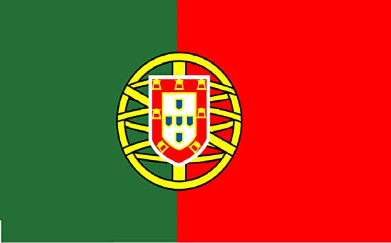 Bandera De Portugal 150 x 90 cm Satén Portugal Flag Durabol: Amazon.es: Deportes y aire libre