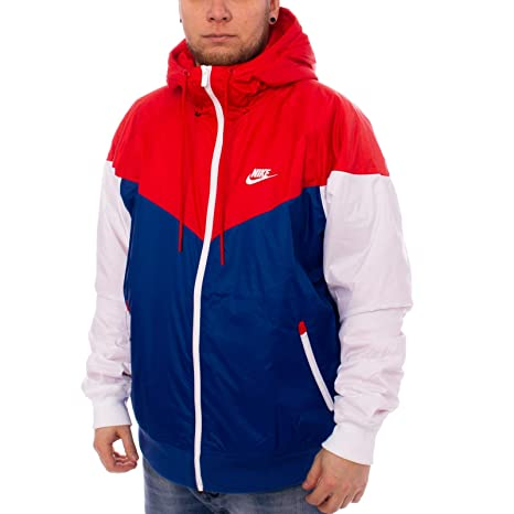 quality design ea160 88dee Nike Giacca Sportswear He Windrunner HD Ins Rosso S (Small)