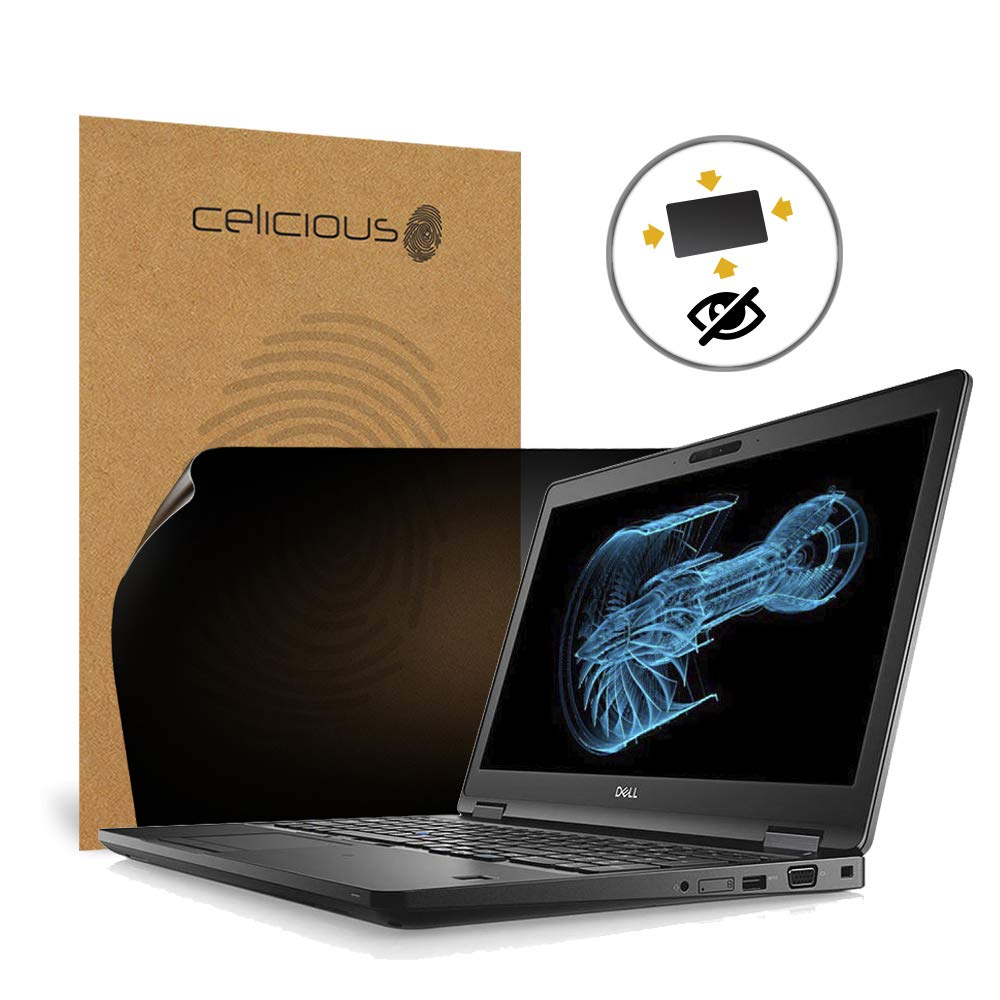 Celicious Privacy Plus 4-Way Anti-Spy Filter Screen Protector Film Compatible with Dell Precision 15 3530 (Touch)
