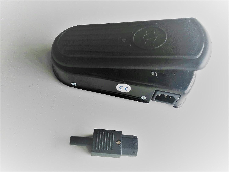 Pedal Profesional Super-Regulable para maquinas de Coser Refrey, Alfa, etc. COMPROBADO