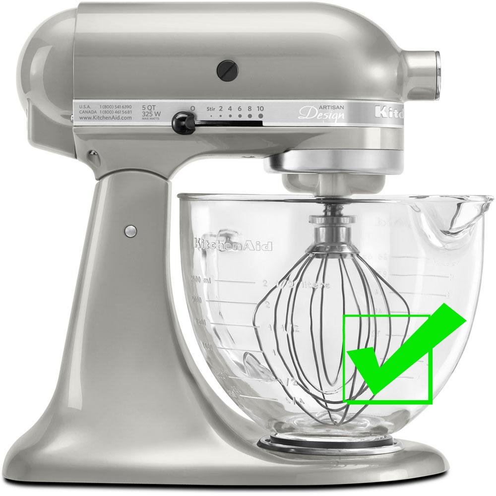 SideSwipe flex edge beater for KitchenAid Tilt-Head Mixers, in Red by SideSwipe (Image #5)