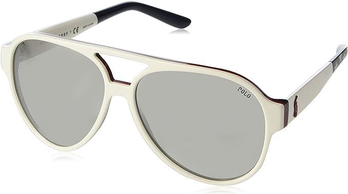 Polo 0PH4130 Gafas de sol, Aviador, 61, White: Amazon.es: Ropa y ...