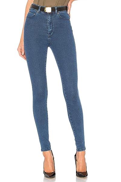 Jeans Vita Donna Alta Skinny Pantaloni H In Elasticizzati A Hiamigos UFwx5X