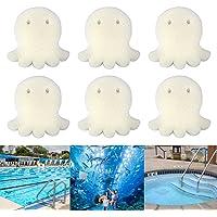 Kungfu Mall - 6 esponjas absorbentes de aceite, esponja de limpieza para bañeras de hidromasaje, piscinas, spas (forma…