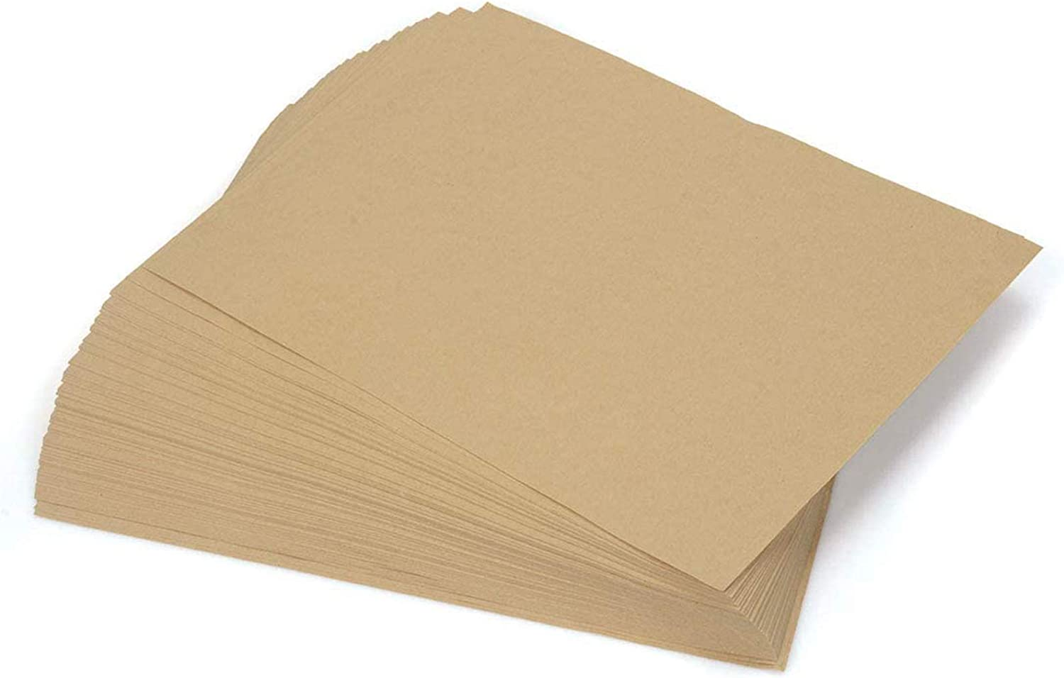 Brown Kraft Paper, 170 Pcs Kraft Paper Sheet, Letter Sized Brown Stationery Paper for Art, Crafts and Office Use, 8.5 X11 Inches