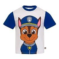 Paw Patrol : La Pat' Patrouille - T-Shirt Officiel pour Enfant - Rocky/Chase/Ruben/Stella