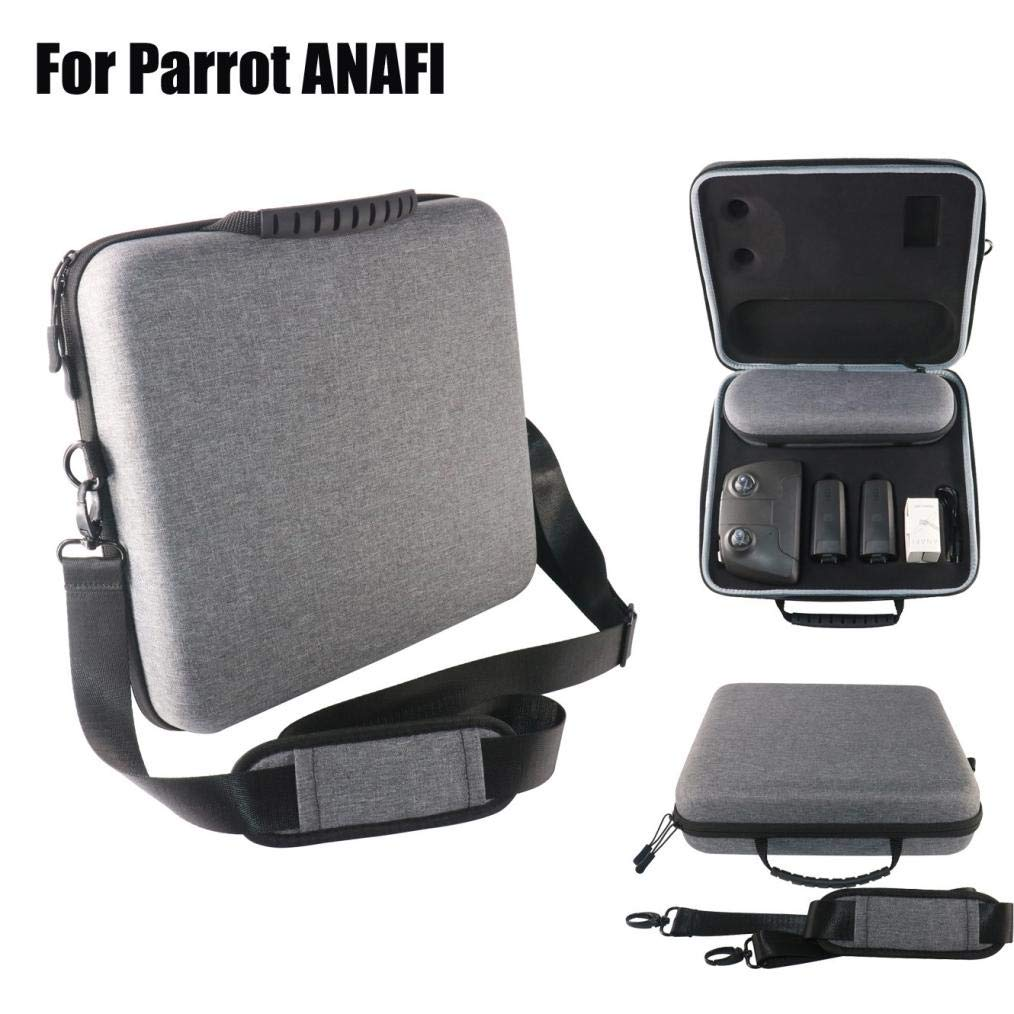 Hunzed Parrot ANAFI RC Drone, Carrying Bag Backpack Travel Outdoor Case (Gray)