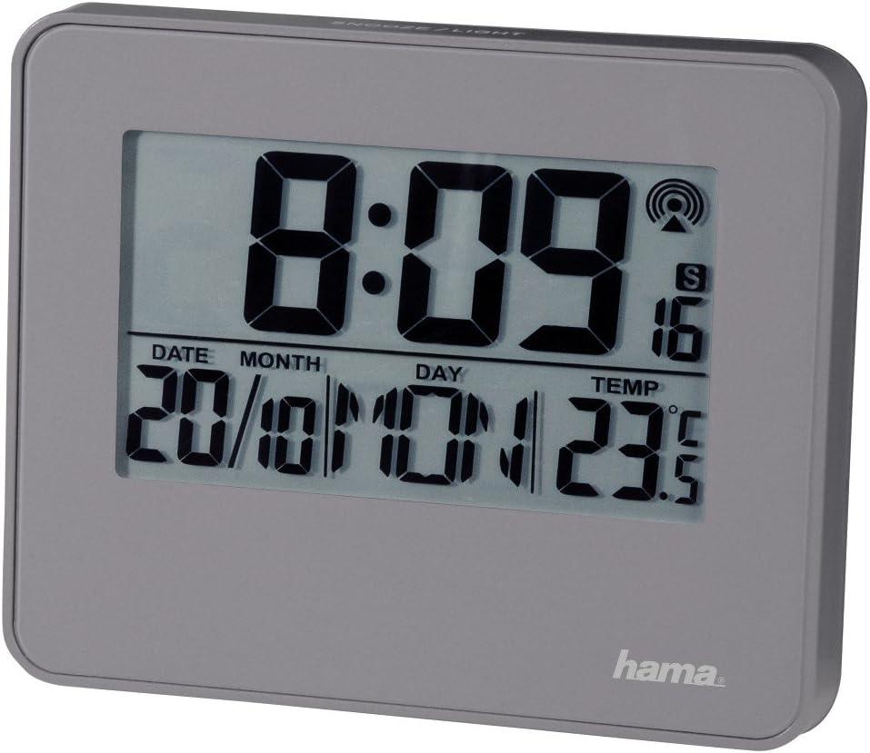 10.5x3.7x8.5 cm Blanco Hama Despertador