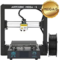 TRIGORILLA ANYCUBIC Mega-S 3D Printer Updated Extruder suitable for flexible Filament Fully Metal Structure with Patent Ultrabase Heatbed DIY Kit