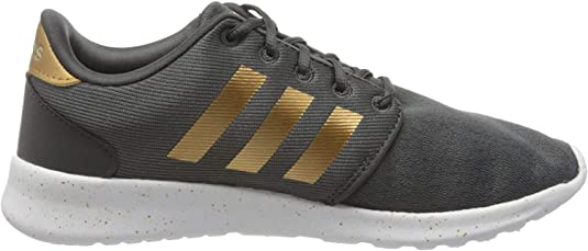 6. Adidas Women's Cloudfoam QT Racer Xpressive-Contemporary Cloudfoam Running Sneakers Shoes
