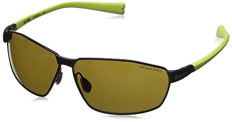 43121dda4dd6 Amazon.com: Nike Stride Sunglasses, Matte Gunmetal/Voltage, Outdoor ...