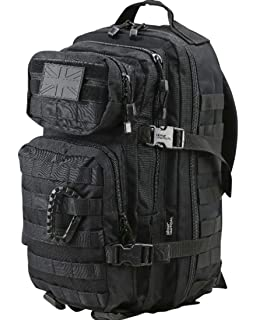 Mil-Tec MOLLE Tactical Assault Backpack - Large 36 Litre (Black ... 2178ae9b57828