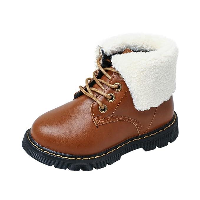 ❤ Zapatos Bebe niña,Niño pequeño Niños Niñas Sneaker Botas cálidas Niños Zapatos Casuales de bebé Absolute: Amazon.es: Ropa y accesorios