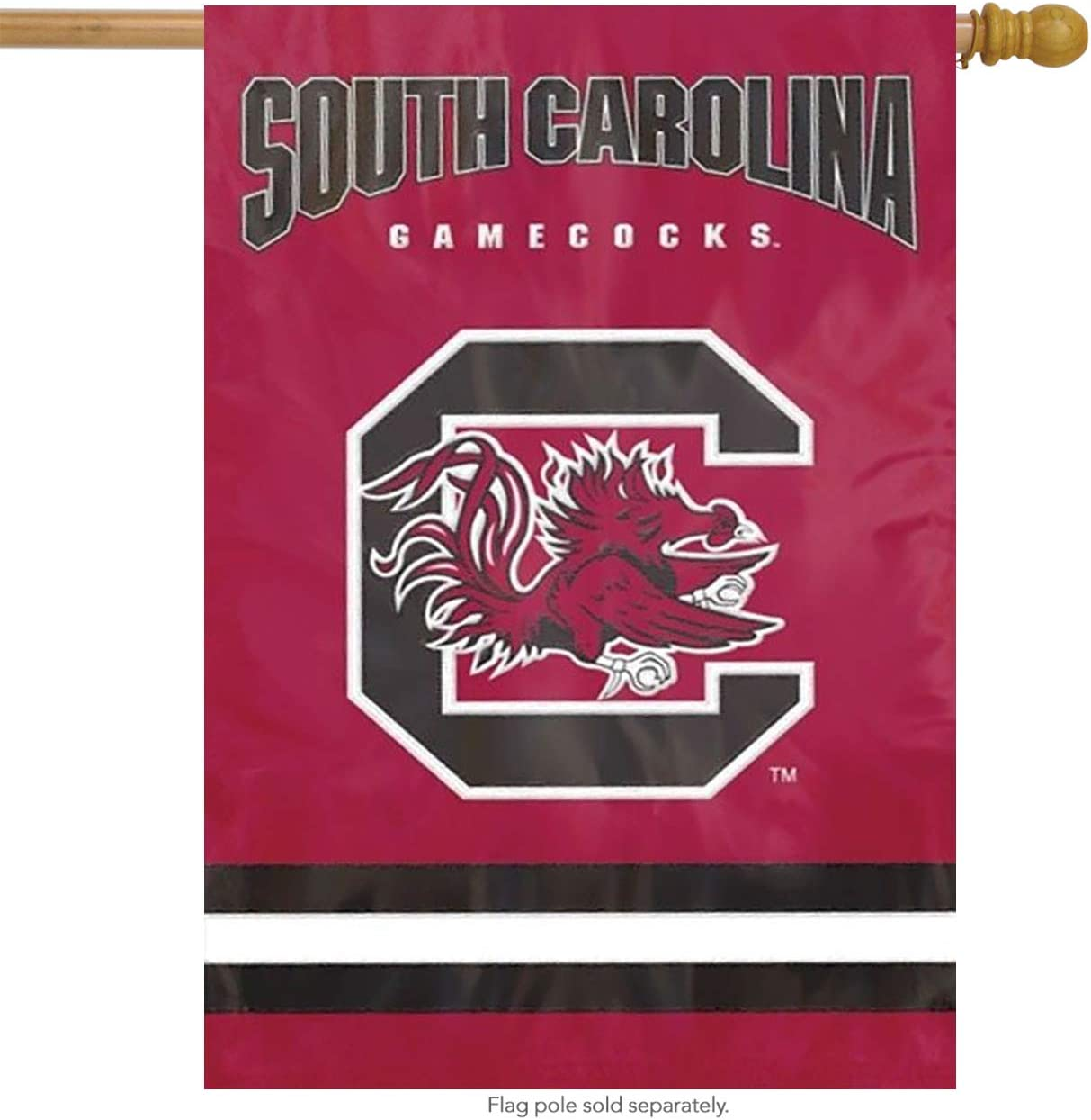 Party Animal South Carolina Gamecocks Applique Banner Flag