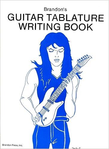 Guitar guitar tablature writer : Brandon's Guitar Tablature Writing Book: Alfred Music ...