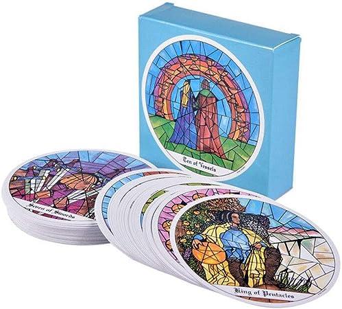 Peahop Tarot Cards Deck 78 Tarot of The Cloister Card Set Juego de Mesa para Principiantes y lectores experimentados: Amazon.es: Hogar