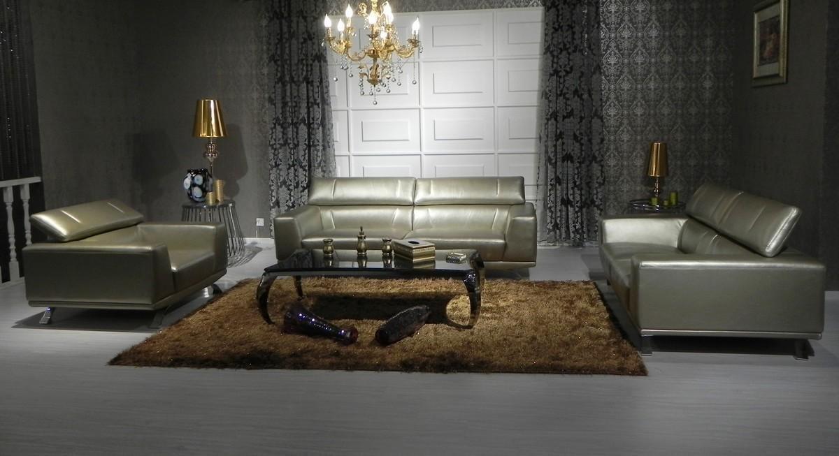 living room modern sofas amazoncom 8334 bronze top grain italian leather living room sofa