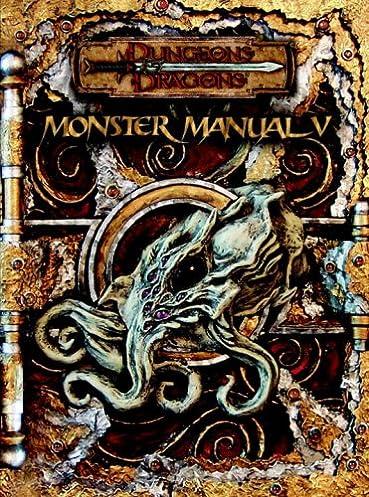 monster manual v dungeons dragons d20 3 5 fantasy roleplaying rh amazon com monster manual 5e monster manual 5e pdf free