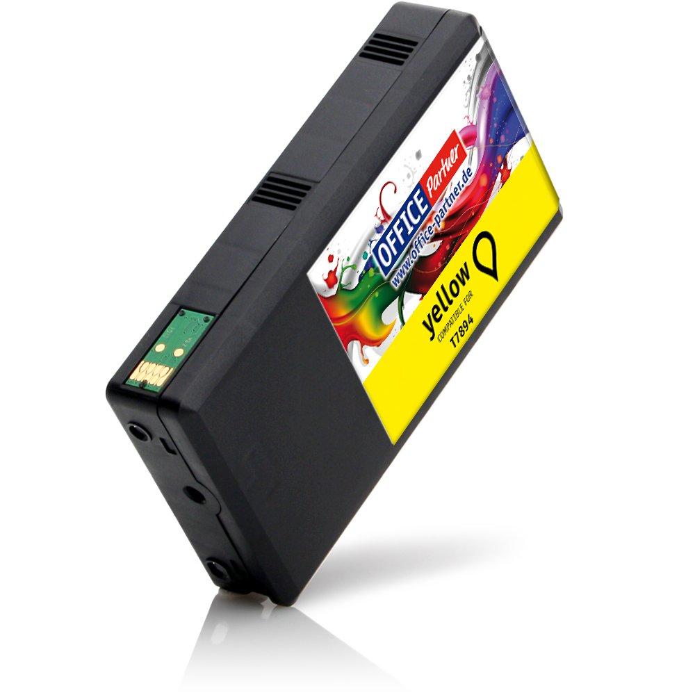 multiPack 10 cartuchos de tinta compatibles con Epson T7891-T7894 con CHIP para WorkForce Pro WF-4600 Series WF-4630 DWF WF-4640 DTWF WF-5100 Series WF-5110 DW WF-5190 DW WF-5600 Series WF 5620 DWF WF-5690 DWF