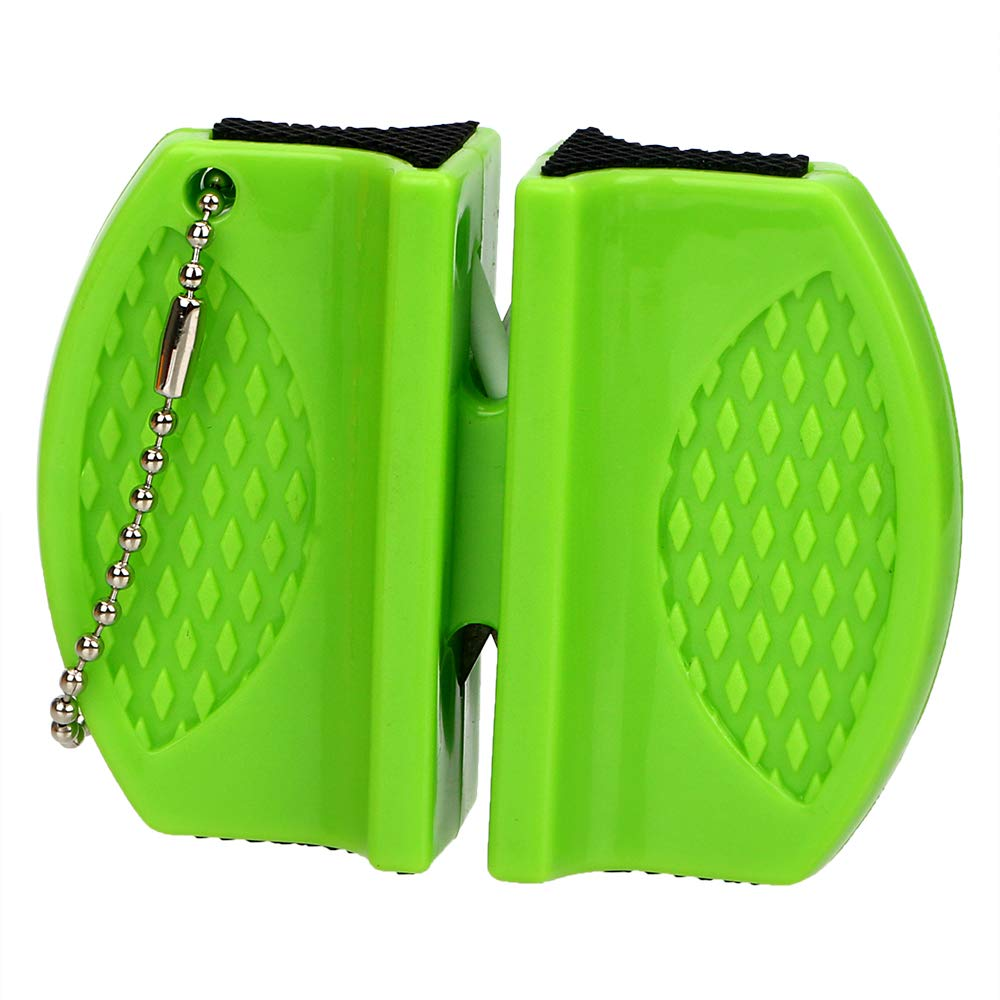 iTimo Scissors Grinder Portable Knife Sharpener Convenient Gadgets For Sharpening Household Tool Kitchen Tools(Green)