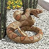 Cheap Design Toscano Western Diamond Back Rattlesnake Statue