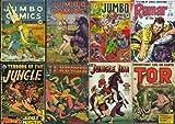 Golden Age Comics Fiction House Jungle Adventures Series Collection on DVD (Fiction House: Jungle Comics, Sheena Queen of the Jungle, Kaanga, Wambi, Vol 2)